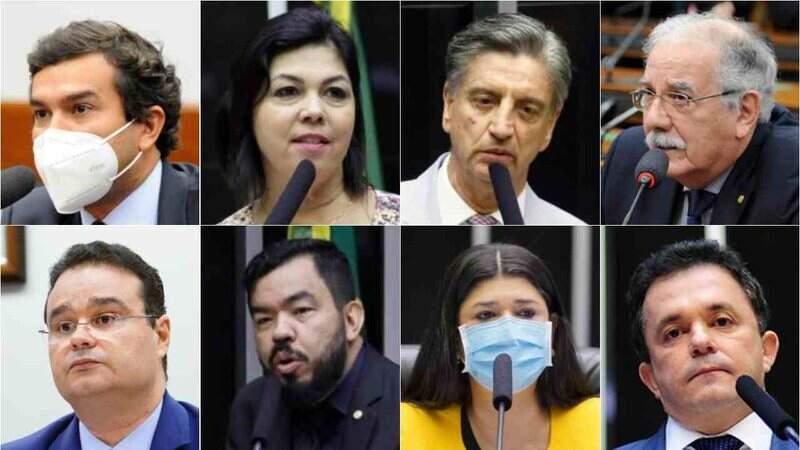 Deputados da bancada federal de Mato Grosso do Sul