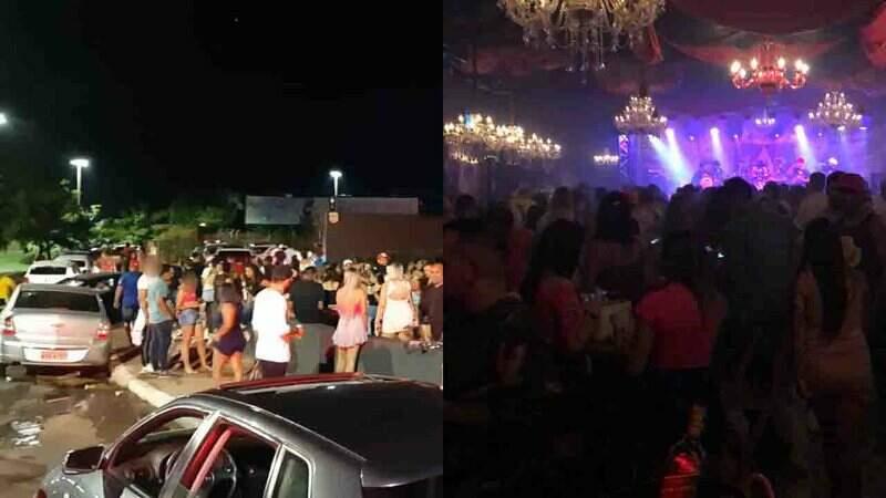 Guarda Municipal foi a boate verificar denúncia de festa