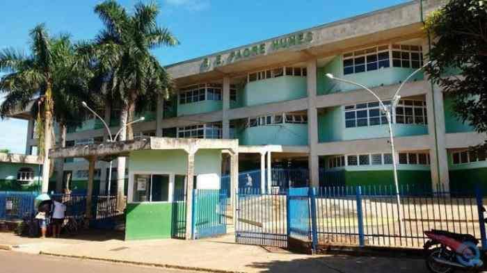 Colégio alvo de ameaças em Coxim