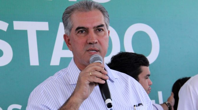 Empresa fornece aparelhagem de som para o governador Reinaldo Azambuja