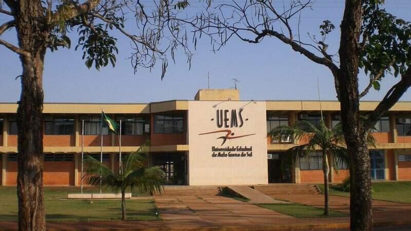 Campus da UEMS em Dourados (Foto: Divulgação)