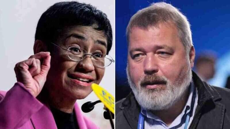 Jornalistas Maria Ressa e Dmitry Muratov recebem Nobel da Paz · Jornal  Midiamax