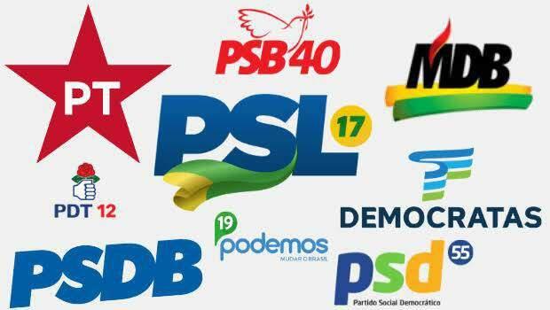 Algumas das principais siglas brasileiras