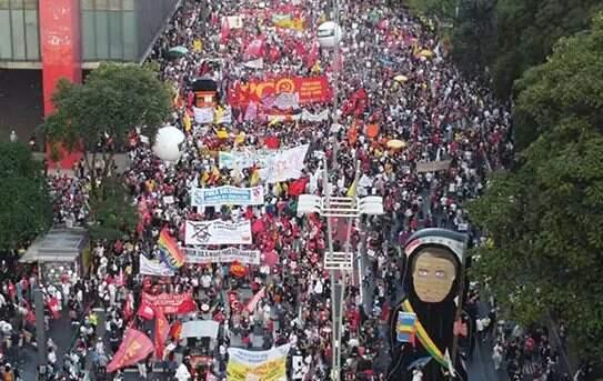 Movimentos sociais e centrais sindicais convocam novo protesto para 19 de  junho · Jornal Midiamax