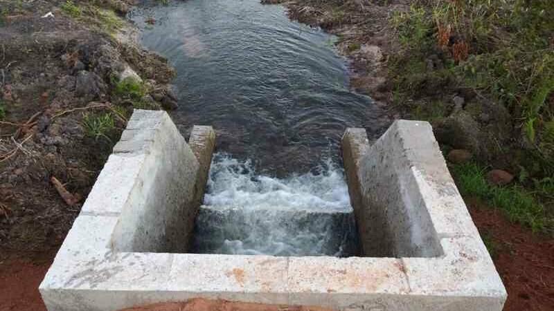 Represa tinha grande lâmina d'água, mas não tinha licença ambiental