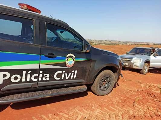 Camionete da vítima foi recuperada no Paraná