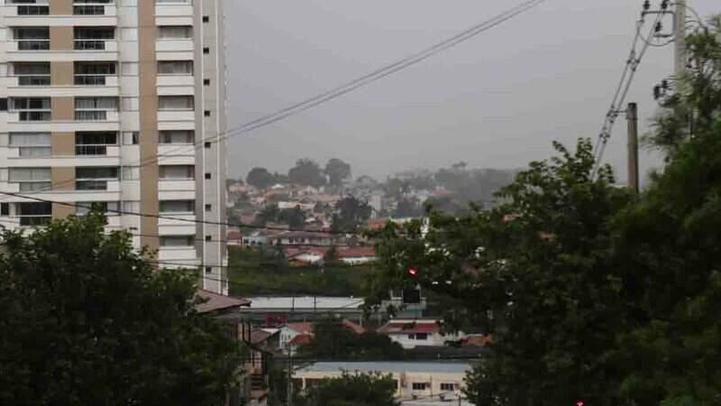 Campo Grande também está no alerta emitido pelo Inmet.