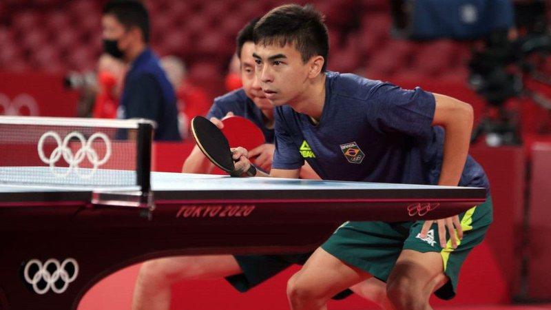 È a primeira vez que a seleção masculina se classifica para as quartas de final na disputa por equipes
