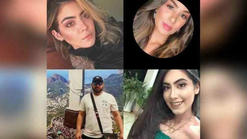 Polícia Nacional conseguiu identificar as quatro vítimas do atentado