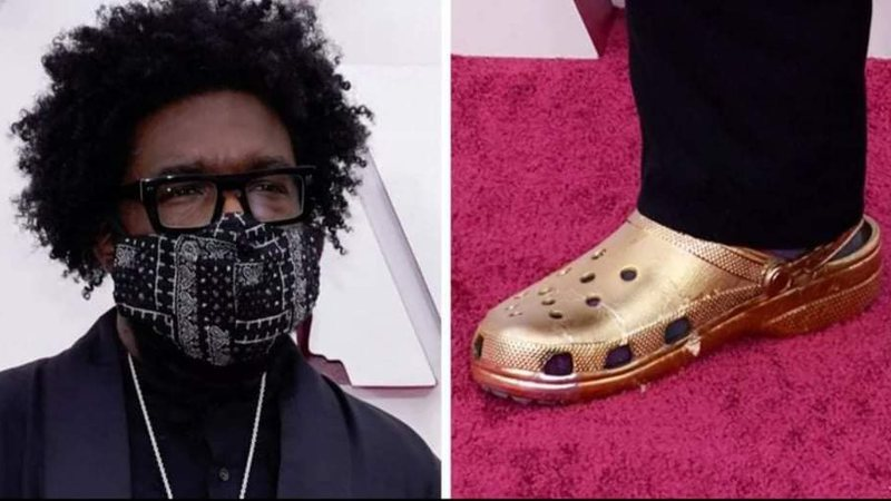 Questlove e seu Crocs
