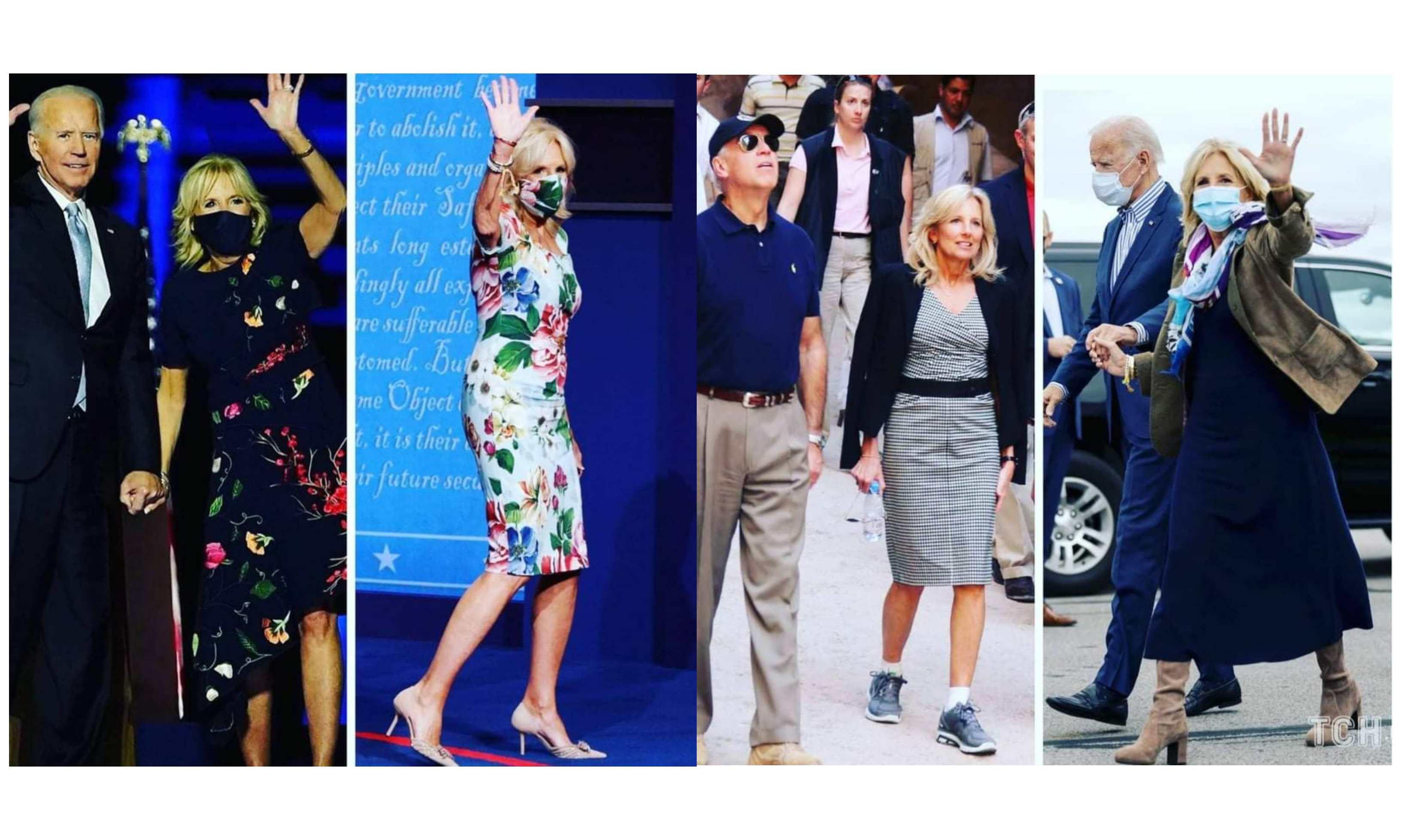 Look de primeira-dama americana causa polêmica