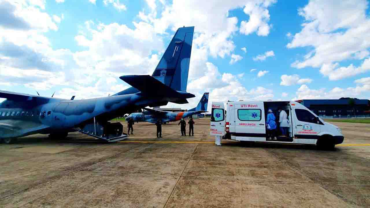[Paciente de MS é transferido para Rondônia diante da falta de leitos de UTI no Estado. (Foto: Arquivo)]