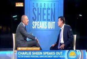 Em programa de TV, Charlie Sheen confirma que é portador do vírus HIV