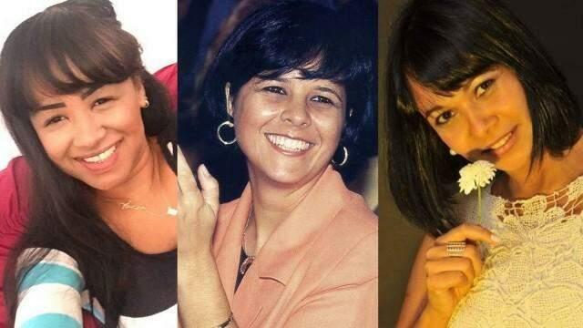 Jornal Extra chegou a compará-la com as outras esposas de Roberto, Maria Rita (no centro) e Iara Andrade (à direita) / Foto: Jornal Extra