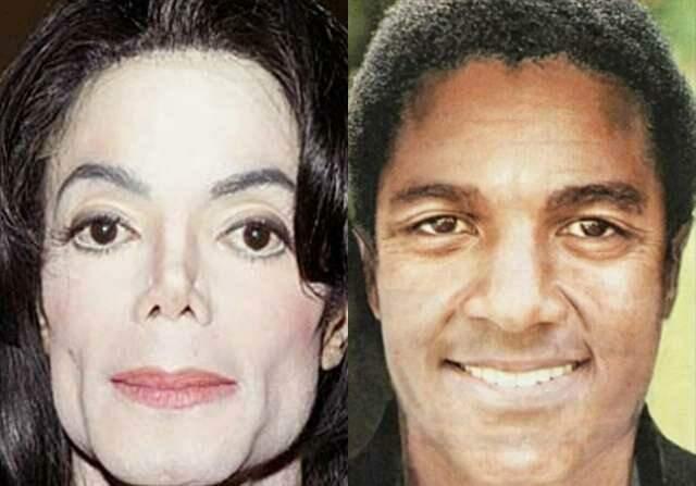 Imagem compara possível aparência de Michael Jackson sem plásticas (Reprodução)