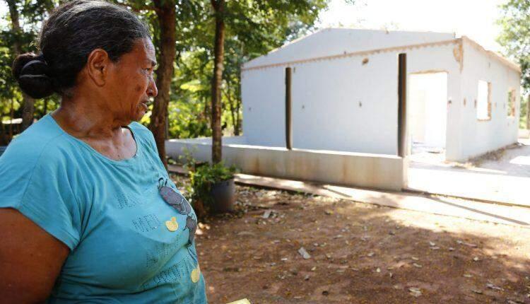 VÍDEO: Justiça segue com reintegração e casas no Acampamento Matinho são derrubadas