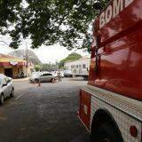 Motorista não vê placa de Pare e atropela bombeiro na região central da Capital