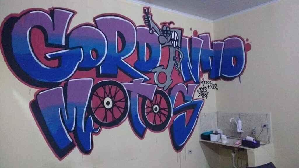 Filho de serralheiro, campo-grandense faz grafites 3D e quer ser artista plástico