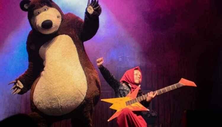 """Cidade do Natal ganha mais uma atração nesta sexta: """"Masha e o Urso"""""""