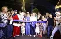 Com show de luzes e efeitos pirotécnicos, Cidade do Natal é inaugurada em Campo Grande