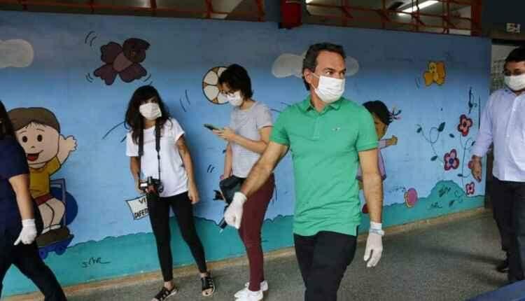 Em Campo Grande, escola municipal já recebe moradores de rua durante pandemia