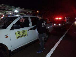 Servidor público federal é preso com 300 kg de maconha em carro oficial