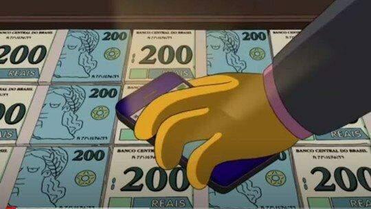 Internautas apontam previsão de 'Os Simpsons' sobre nota de R$ 200 em 2014