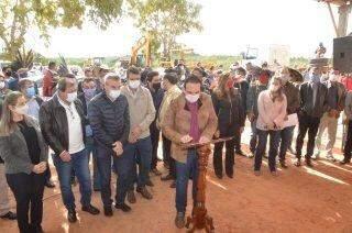 Governo de MS provoca aglomeração para lançar obra em aldeia  indígena