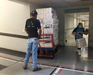 Funcionários reclamam de falta até de papel toalha no HRMS, referencia para coronavírus