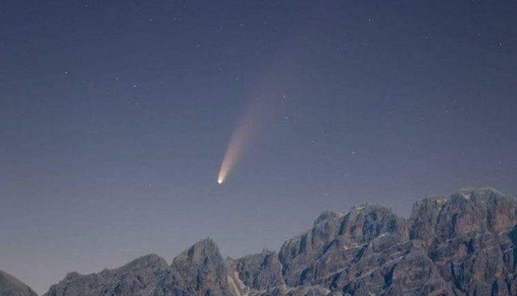 Cometa que só aparece em 6,8 mil anos poderá ser visto em MS a partir do dia 26
