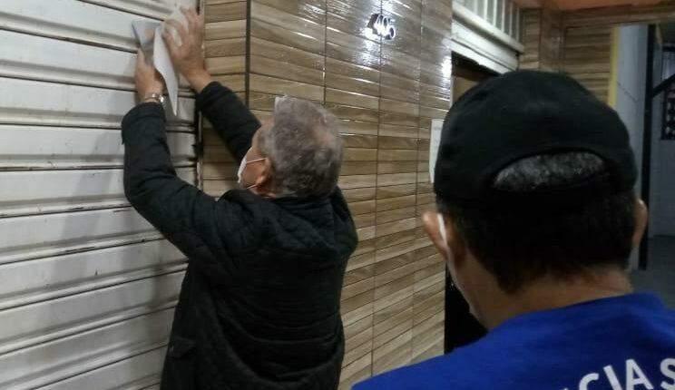Pizzaria na Ceará é interditada após toque de recolher em Campo Grande