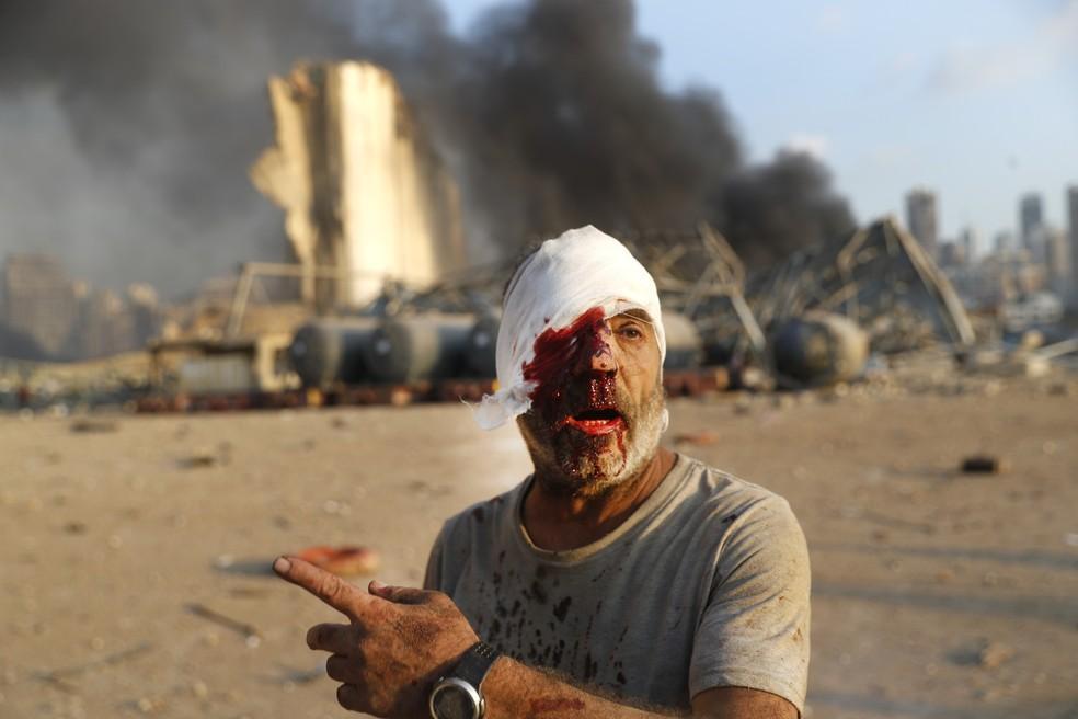 GALERIA: Explosão em Beirute deixa cena de guerra na cidade