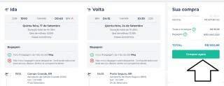 Voos de ida volta de Campo Grande para o Rio por apenas R$ 409 e Porto Seguro a partir de R$ 500