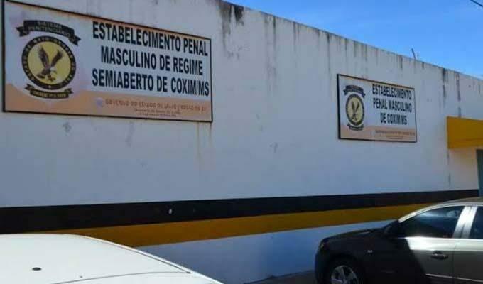 Unidade penal de Coxim identificou mais de 90 infectados em 48 horas; cidade agora conta com 353 casos positivos de coronavírus.