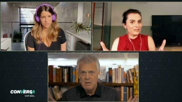 Monica Iozzi se arrepende de dar voz a Bolsonaro no CQC