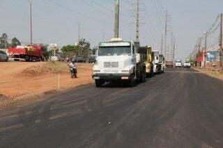 Terceira pista da Cônsul Assaf Trad é finalizada e promete desafogar trânsito na região