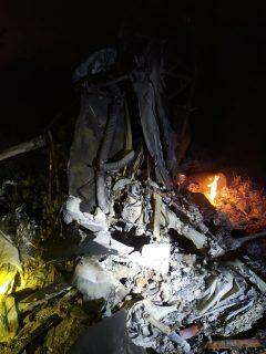 Helicóptero cai em fazenda de MS e autoridades procuram por vítimas