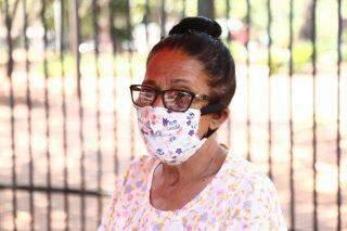 Com 40ºC, população diz que máscara incomoda e pouca gente usa proteção no Centro