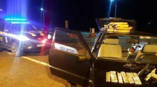 Motorista é preso com carregamento de armas e munições que saíram de MS