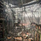 VÍDEO: Imagens revelam cenário de destruição no Atacadão após rescaldo