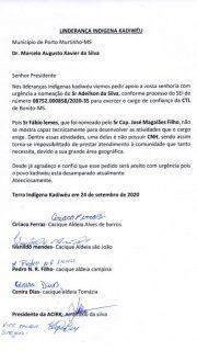 Lideranças indígenas voltam a pedir exoneração de coordenação da Funai de Bonito