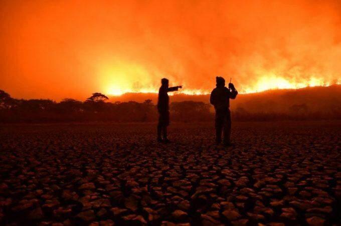 Pantanal em chamas: fogo chega a reserva natural e mobiliza força-tarefa por 20h