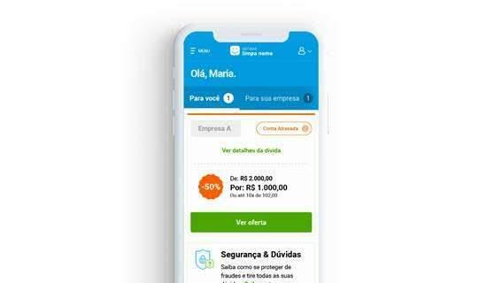 Nova ação do Serasa Limpa Nome permite quitar dívidas pela metade do valor; veja passo a passo