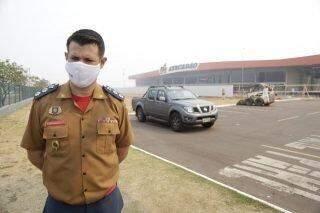 Quatro dias após incêndio histórico, Bombeiros continuam rescaldo no Atacadão