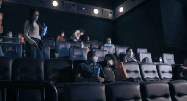 Com máscaras e lanches, cinema de Campo Grande retorna neste sábado após 7 meses