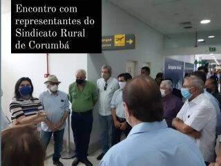 Senadores e ministro Ricardo Salles fazem sobrevoo em áreas queimadas de MS
