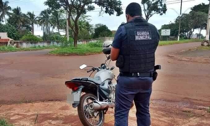 moto com R$ 400 mil em multas