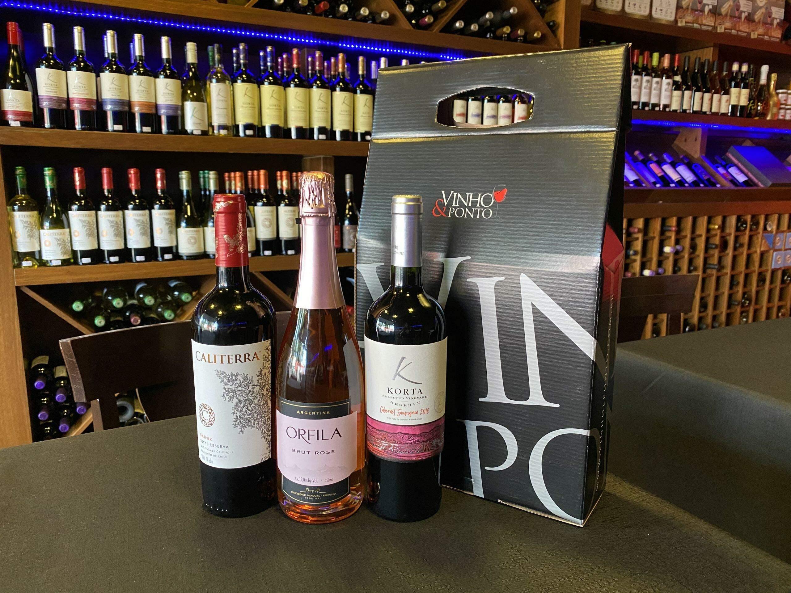 Black Friday Vinho & Ponto: 70% off na segunda garrafa, é pra zerar o estoque e encher sua adega