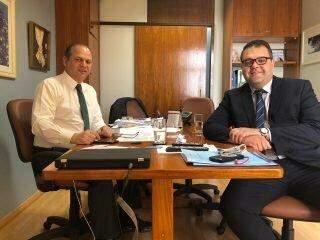 Alan Guedes se reúne com parlamentares de MS e busca recursos para Dourados
