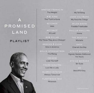 """""""Uma terra prometida"""", de Barack Obama, já está disponível nas livrarias e lojas on-line."""